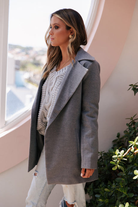 HARLEM COAT ~ GREY