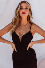 CALI DRESS - BLACK - Always the Sun Boutique