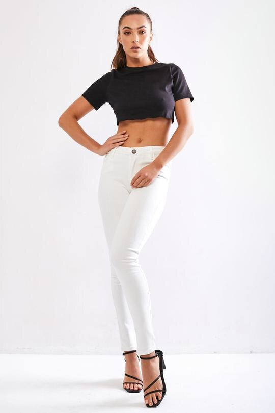 LIBERTY JEANS ~ WHITE - Always the Sun Boutique