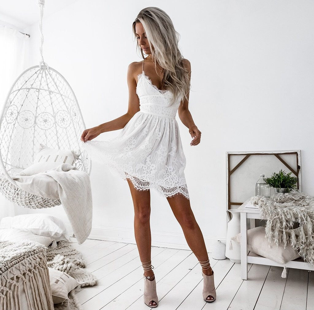 AURELIA DRESS || WHITE - Always the Sun Boutique