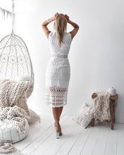 SCARLETT DRESS- WHITE - Always the Sun Boutique