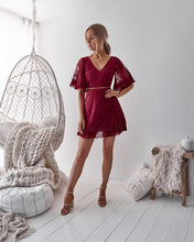 JENNY DRESS - WINE - Always the Sun Boutique