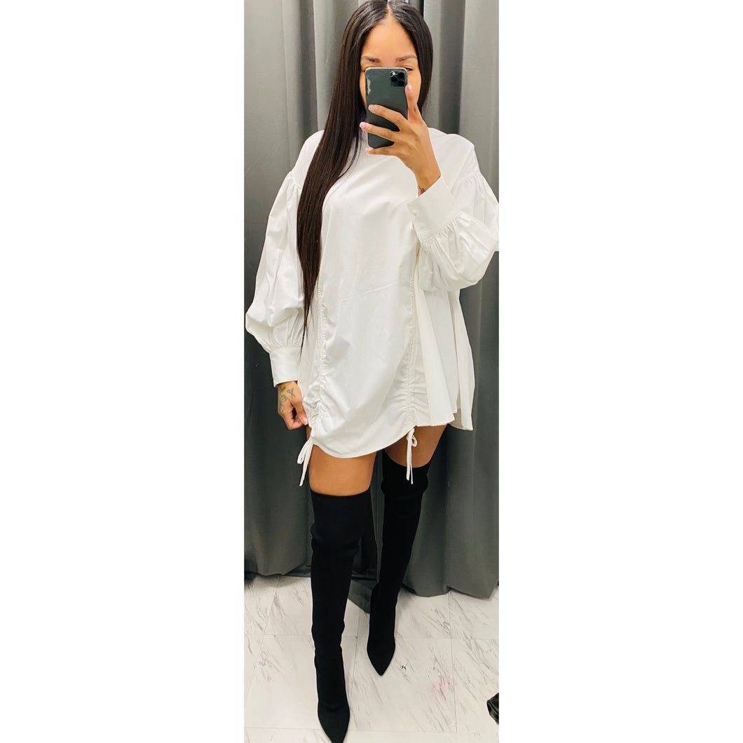 Robin oversized top