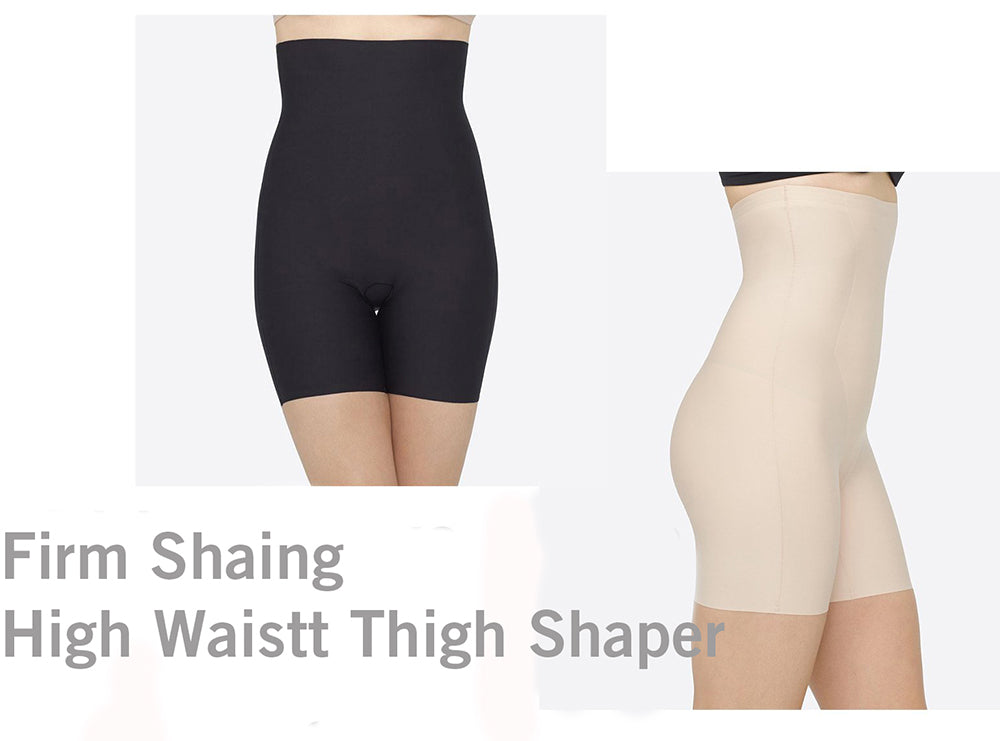 Yummie Firm Shaping High Waist Thigh Shaper can be worn under any garment.
