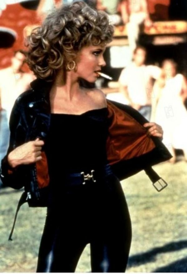 Making a halloween costume as Sandy from Grease