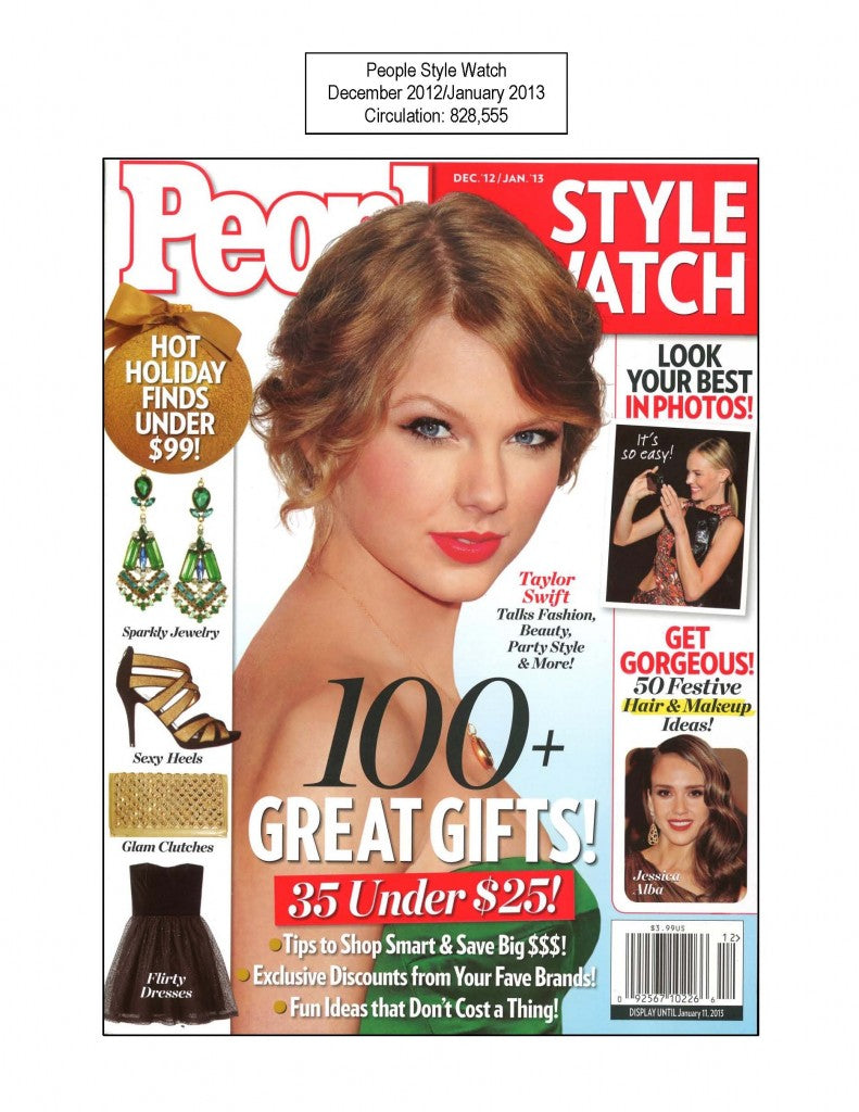 Taylor Swift on the cover of People Magazine.
