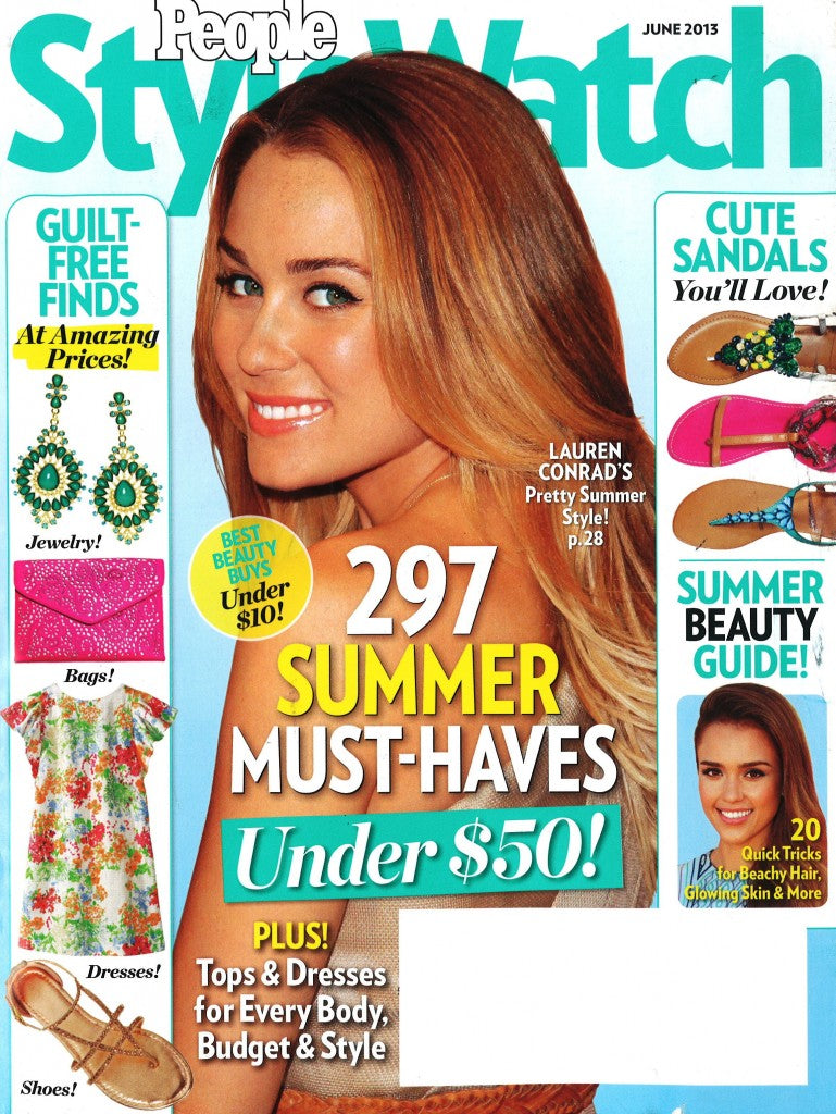 People StyleWatch May 2013 Cover