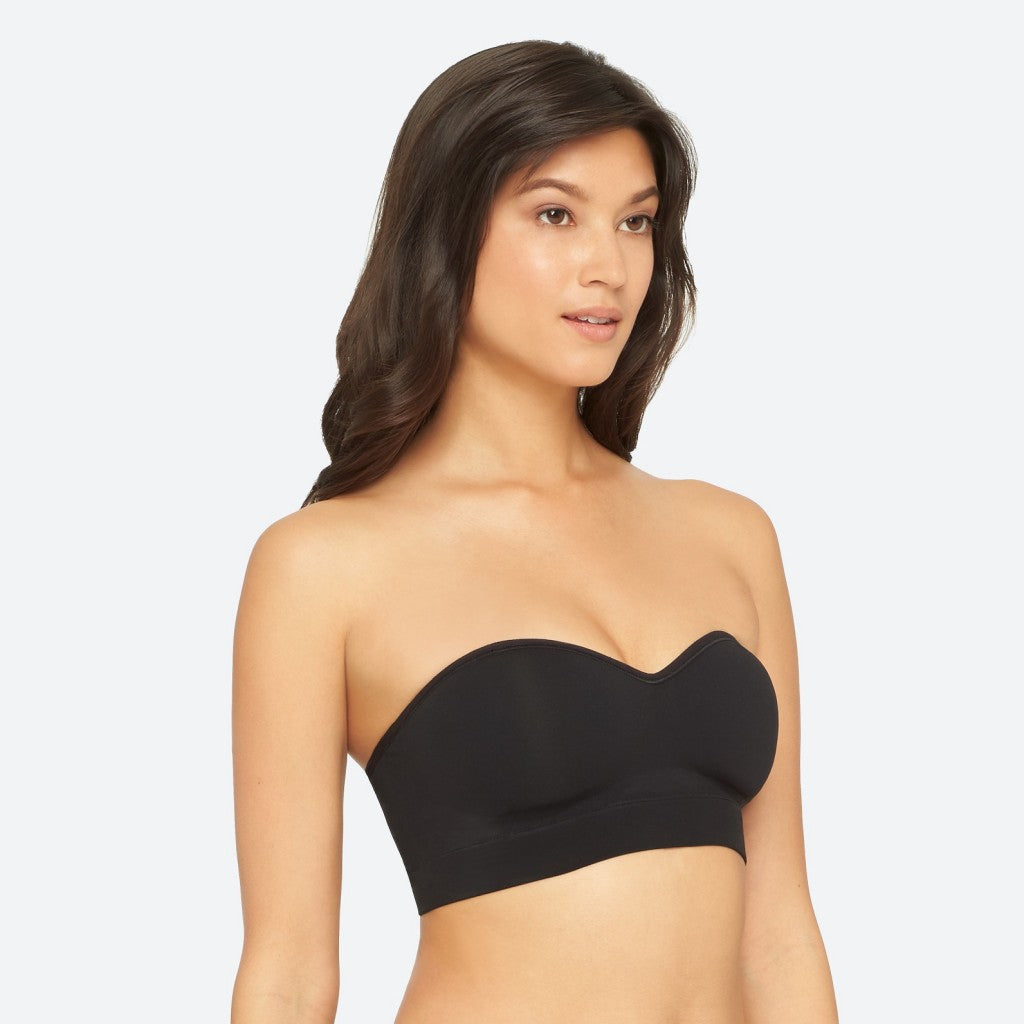 Peyton Strapless Bra - YT8-119 - Black - Side