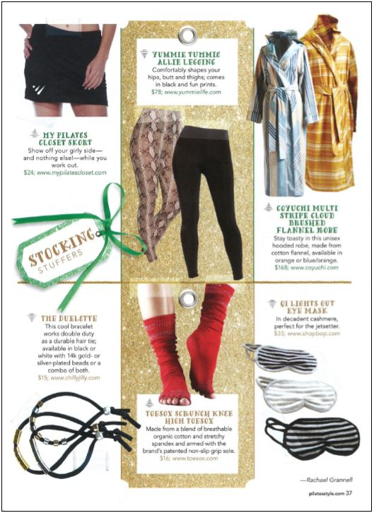 Yummie's Allie Legging is a great stocking stuffer.