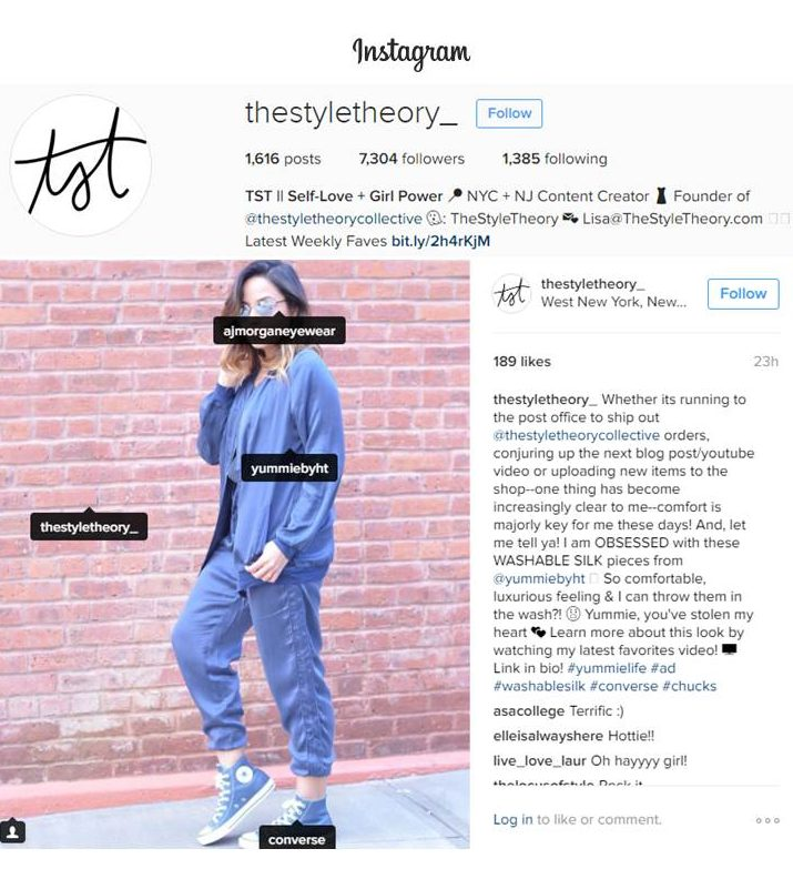 The Style Theory Instagram Press Mention