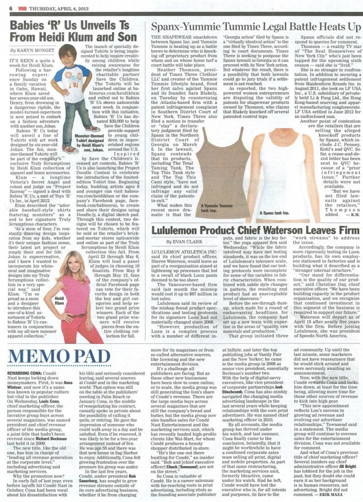 Yummie Tummie and Spanx legal battle continues to brew.