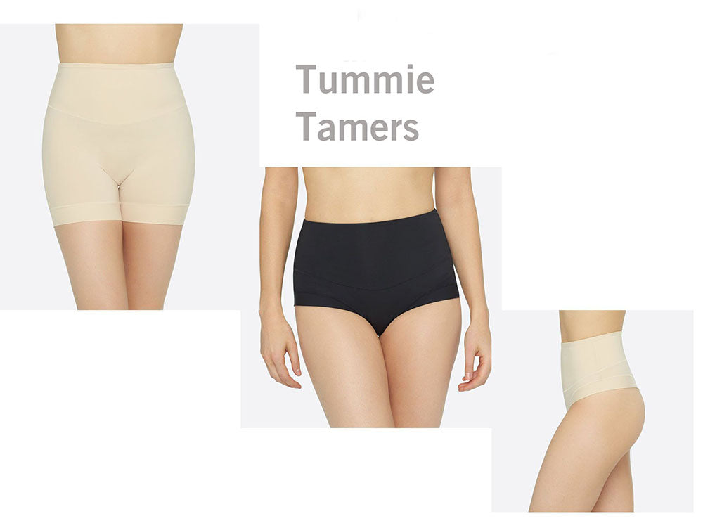 Yummie Tummie Tamers come in different colors and styles.
