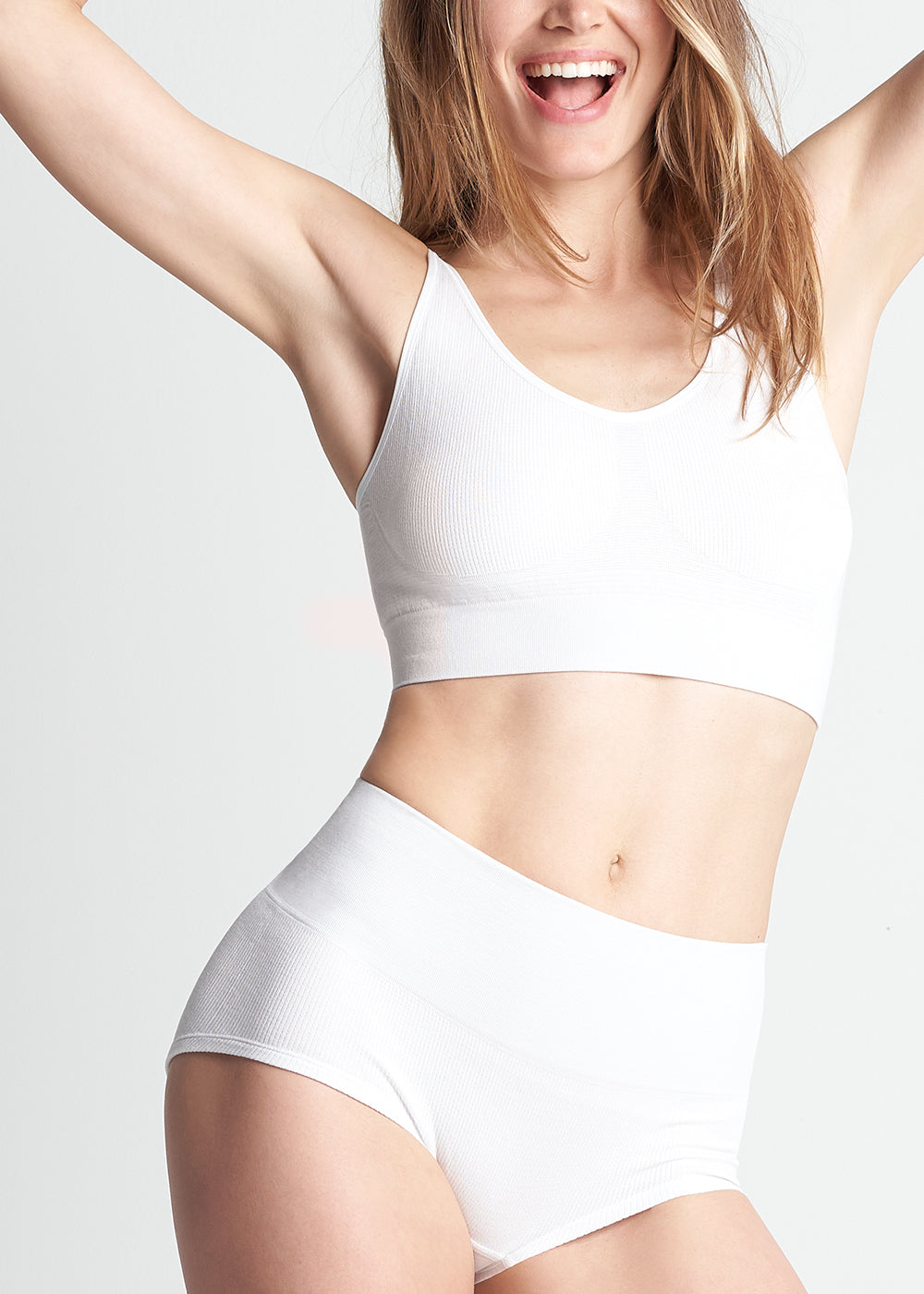 Yummie Antonette Ribbed French Terry Unlined Bralette