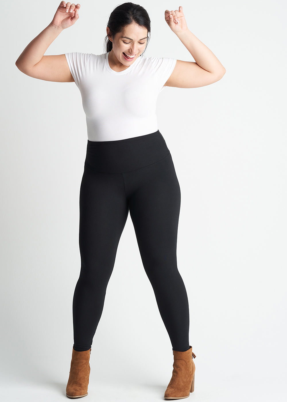 Yummie Rachel Cotton Stretch Shaping Legging