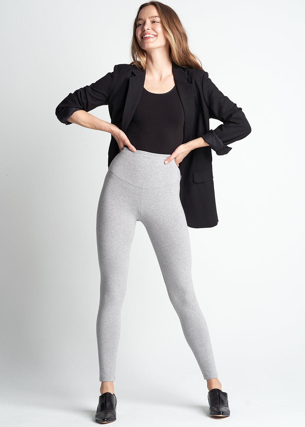 ef1e967828a986 Rachel Cotton Stretch Shaping Legging | Yummie