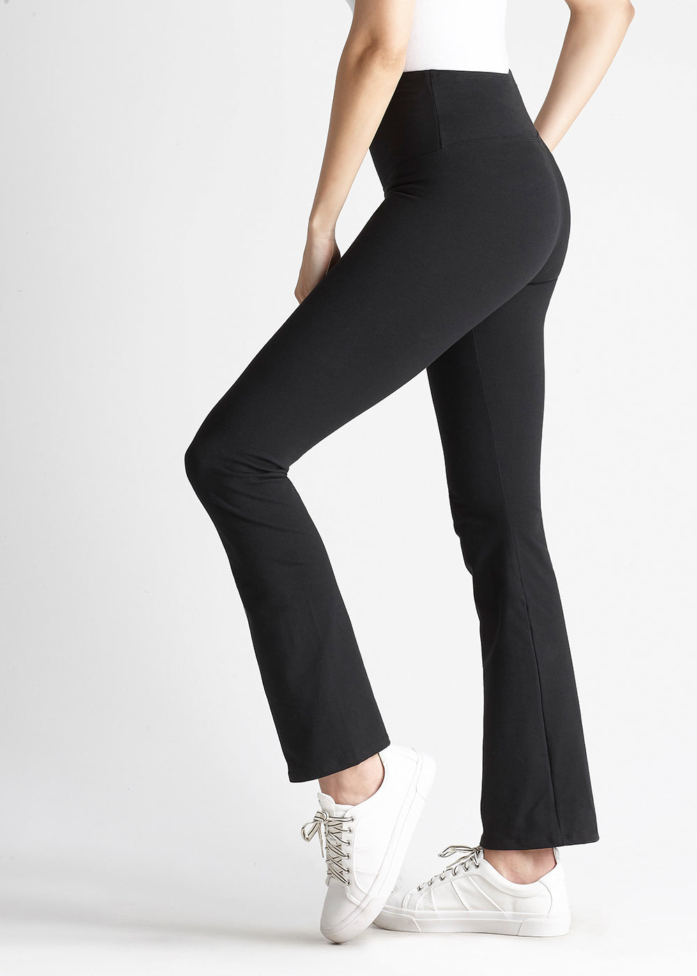 Yummie Jodi Slim Bootcut Cotton Stretch Shaping Legging