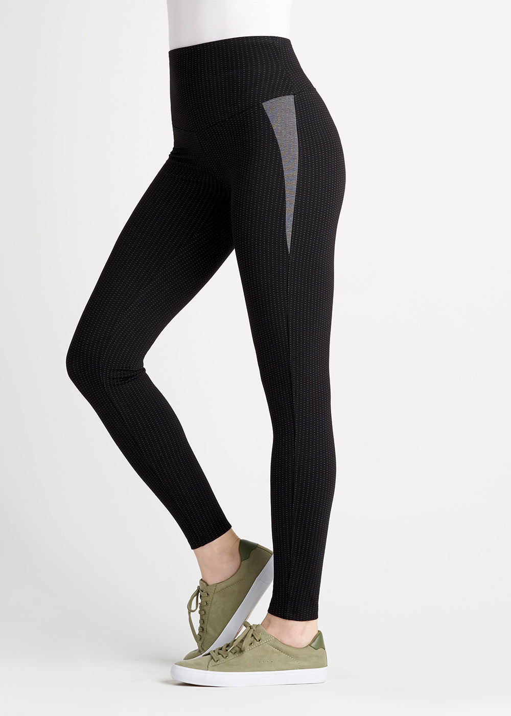 Yummie Menswear Inspired Ponte Shaping Legging