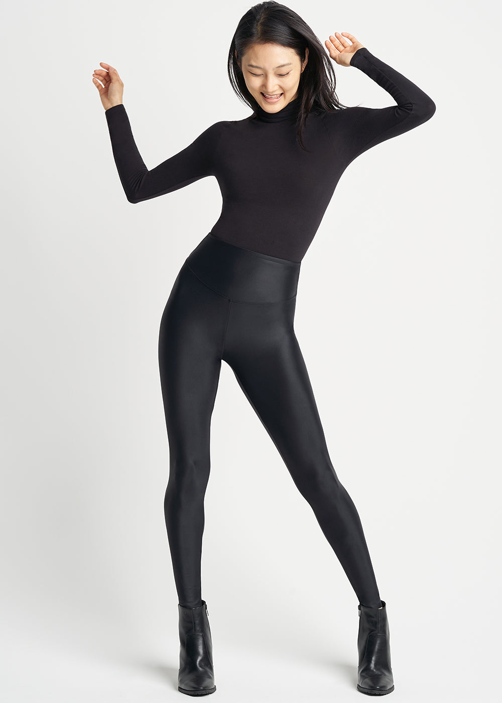Yummie Retro Shine Shaping Legging
