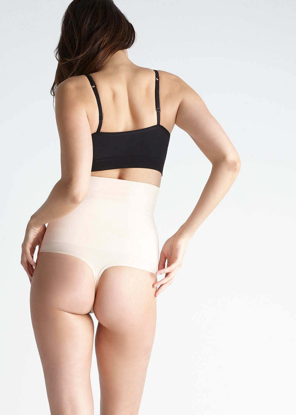 ea5b27bd76c81 Danielle InShapes High Waist Shaping Thong