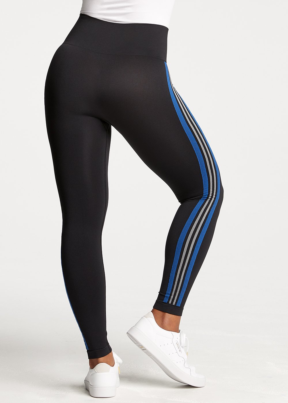 Black with White/Blue Stripe | 5' 9"