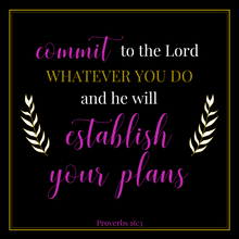 Commit to the Lord Coaster | Indulge Collection - Coaster This