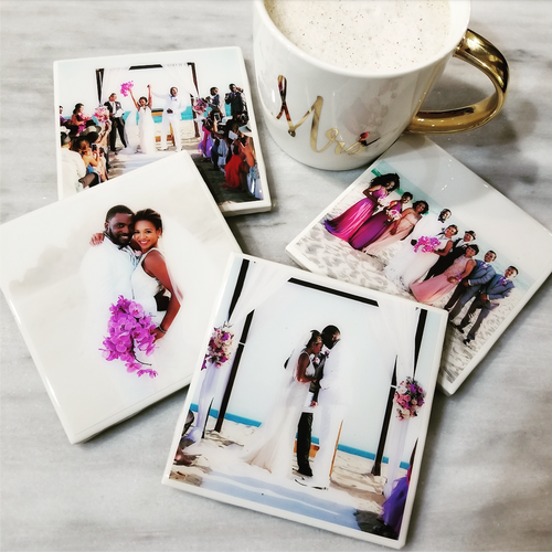 Custom Photo Coaster Set - Coaster This