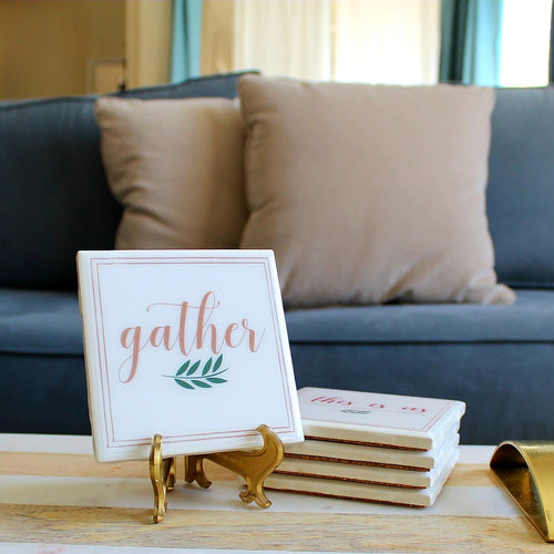 Gather Coaster | Family/Home Collection - Coaster This