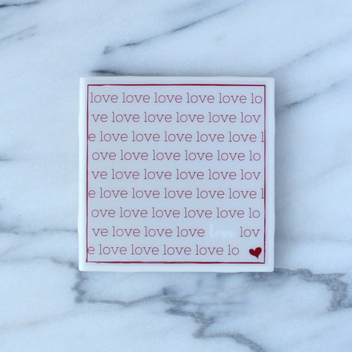 Love Coaster | Love Collection