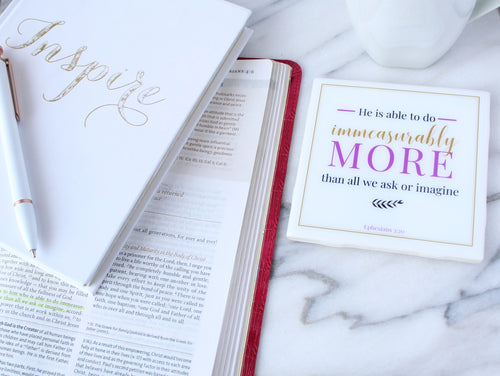 Immeasurably More Coaster | Indulge Collection - Coaster This