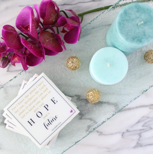 NEW Hope & Future Coaster | Indulge Collection - Coaster This