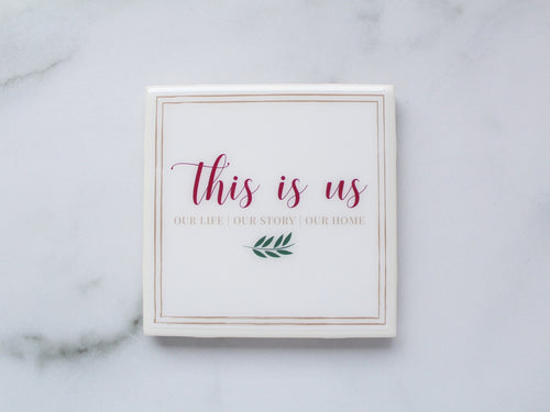 This Is Us Coaster | Family/Home Collection - Coaster This