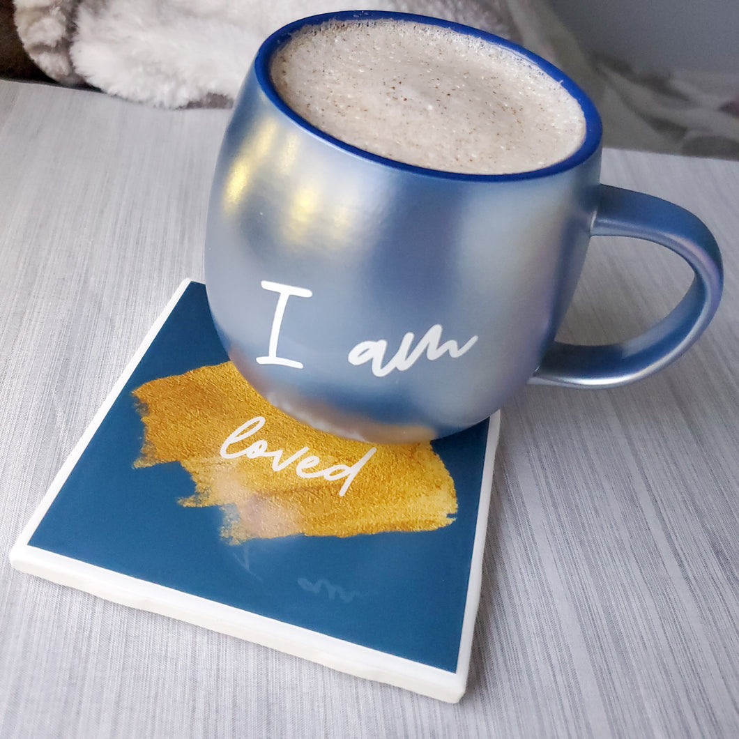 *IMPERFECTLY PERFECT* PRE-ORDER | I AM Mug & Coaster Set - Coaster This