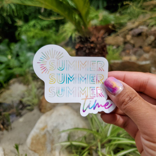 Summer Summer Summer Time Sticker - Coaster This