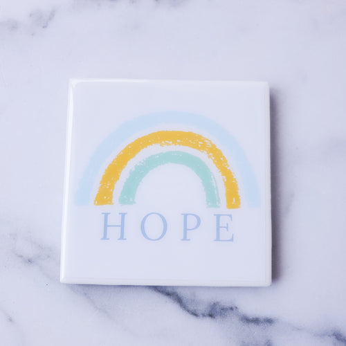 Hope Coaster | Rainbow - Coaster This