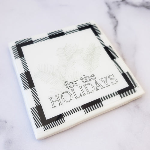 For the Holidays Coaster - Coaster This