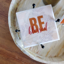 Be Thankful Be Grateful Be Blessed Coaster Set | Blessings Collection - Coaster This
