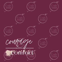 *PRE-ORDER* Courage Over Comfort Coaster - Coaster This