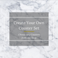 Create Your Own Coaster Set | Imagine Collection