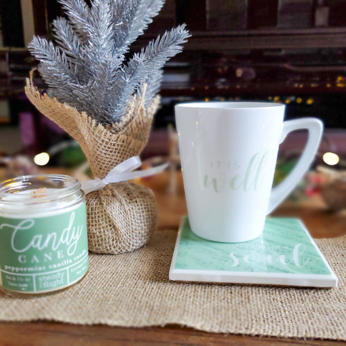 Hint of Mint | Candles & Coasters - Coaster This