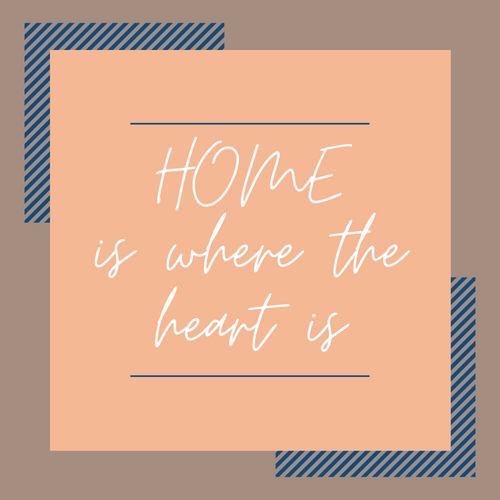 Home Is Where the Heart Is - Coaster This