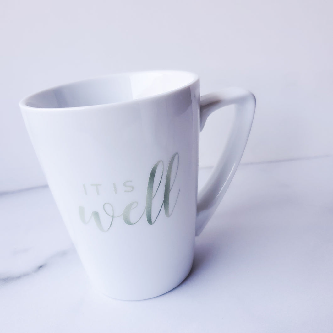 It Is Well - *MUG ONLY* - Coaster This