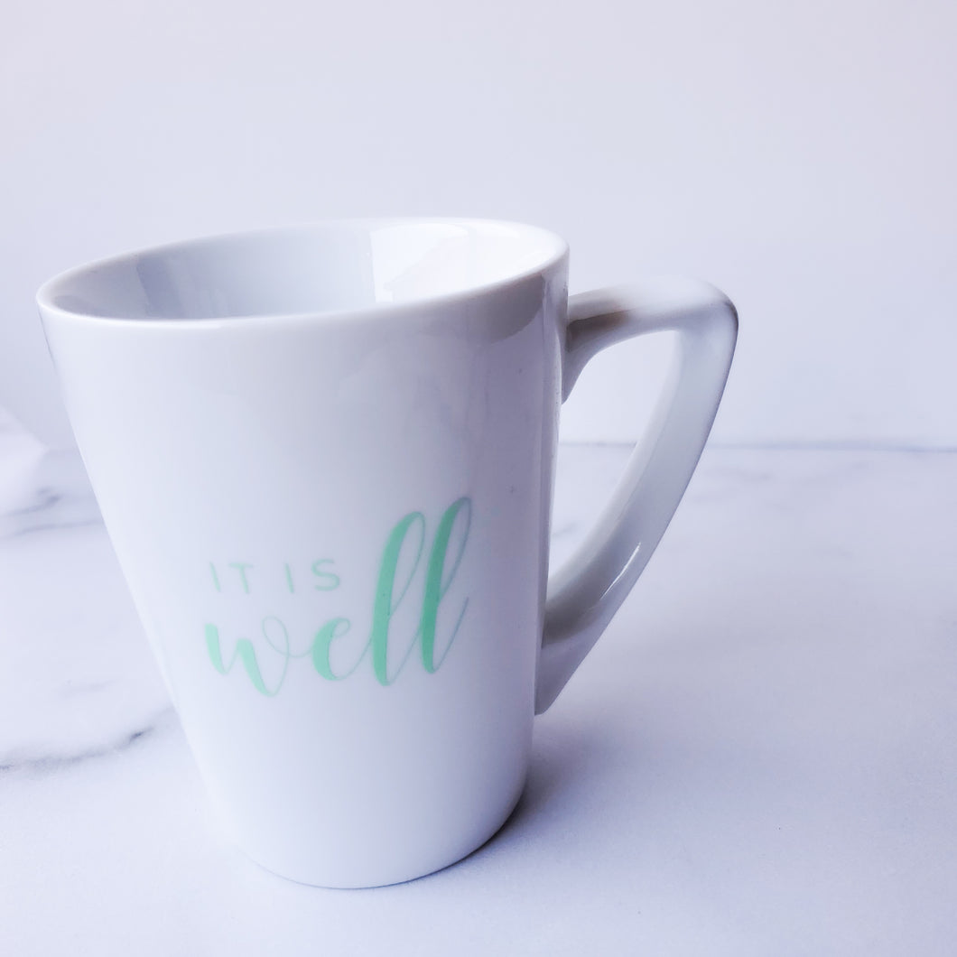 It Is Well (Neon) - *MUG ONLY* - Coaster This