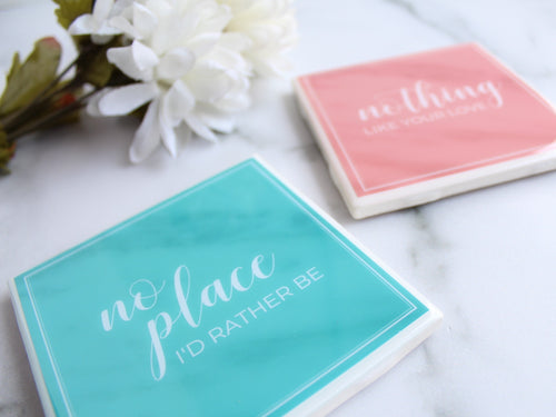 No Place I'd Rather Be Coaster | Spring Collection - Coaster This