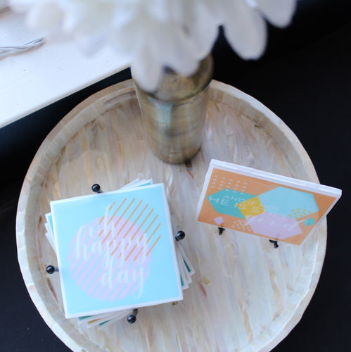Oh Happy Day Coaster | Summer Collection - Coaster This