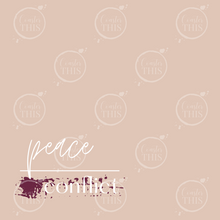 *PRE-ORDER* Peace Over Conflict Coaster - Coaster This