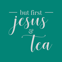 But First Jesus & Tea Coaster | Rise & Shine Collection - Coaster This