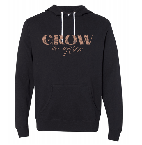 Grow in Grace Hoodie - Coaster This