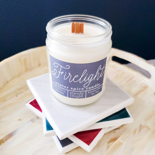 Firelight | Candles & Coasters - Coaster This