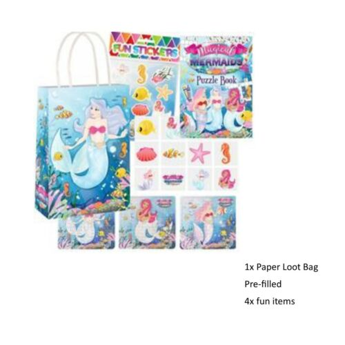 Mermaid under sea Birthday Party Set magical complete range Magical Tableware