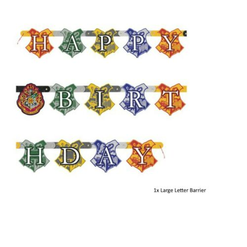 Harry Potter Magical Birthday Party Range Table Supplies and Decorations Unique